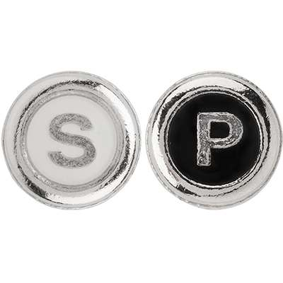 """<BR>For easy recognition, the letters """"S"""" and """"P"""" were printed on top of the knobs<BR>"""
