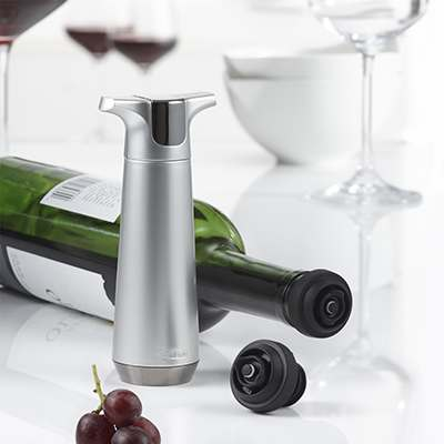 <BR>To be used with the Trudeau Wine Preserving Pump