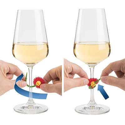 <BR>Adjusts to all stemware<BR>