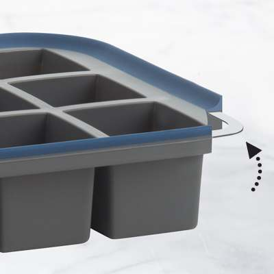 <BR>Integrated steel structure for easy and secure handling