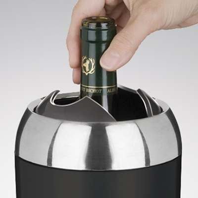 <BR>Auto-closure system to keep the wine cooler longer<BR>