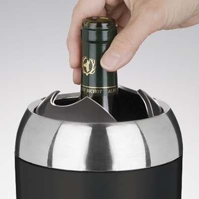 <BR>Fermeture automatique pour garder le vin à la bonne température<BR>