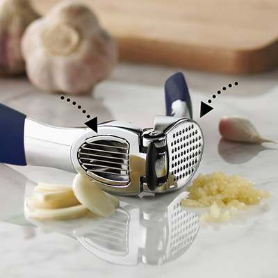 <BR>Offers two options: slicing and pressing