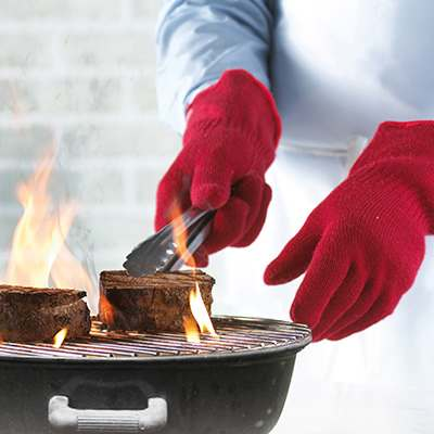 <BR>Heat and flame resistant aramid fibers<BR>