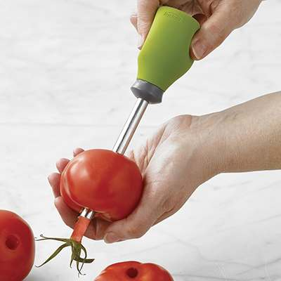 <BR>Insert from base of tomato and press upwards<BR>