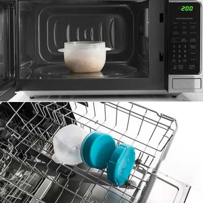 <BR>À l'épreuve du micro-ondes et du lave-vaisselle<BR>